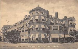 F3/ Old Point Comfort Virginia Postcard c1910 Albertype Sherwood Inn