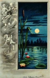 CPA Angels and a Lake at Night ANGELS (777385)