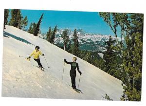 Mammoth Skiing Sierra Vistas California Ski