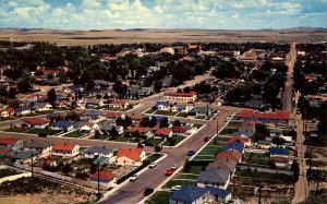 WY - Rawlins. On US Rte 30, The Lincoln Highway. Aerial View