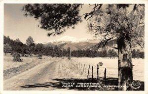 LP08 Lordsburg   New Mexico Postcard RPPC White Mountain Frashers Foto