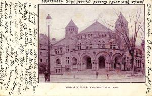 CT - New Haven - Yale University. Osborn Hall