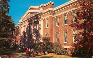 Jackson Tennessee~Union University~Students at Administration Bldg~1950s