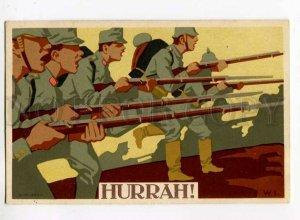 275760 Avant-Garde WWI Germany PROPAGANDA Hurrah by W.I. old