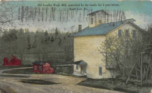 G42/ North East Pennsylvania Postcard c1910 Scouller Water Mill