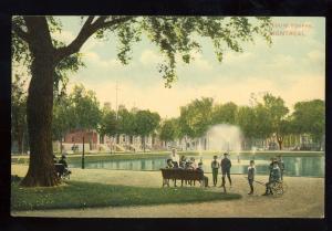 Montreal, Quebec, Canada  Postcard, St Louis Square