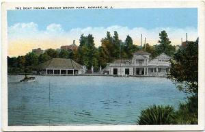 The Boat House at Branch Brook Park - Newark NJ, New Jersey - WB