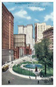 New York City Postcard Lot of 9 Bowling Green Commonwealth Madison Square  01.17