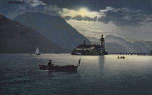GMUNDEN, Higher-Austria, Austria, 1900-1910's; Mondnachl
