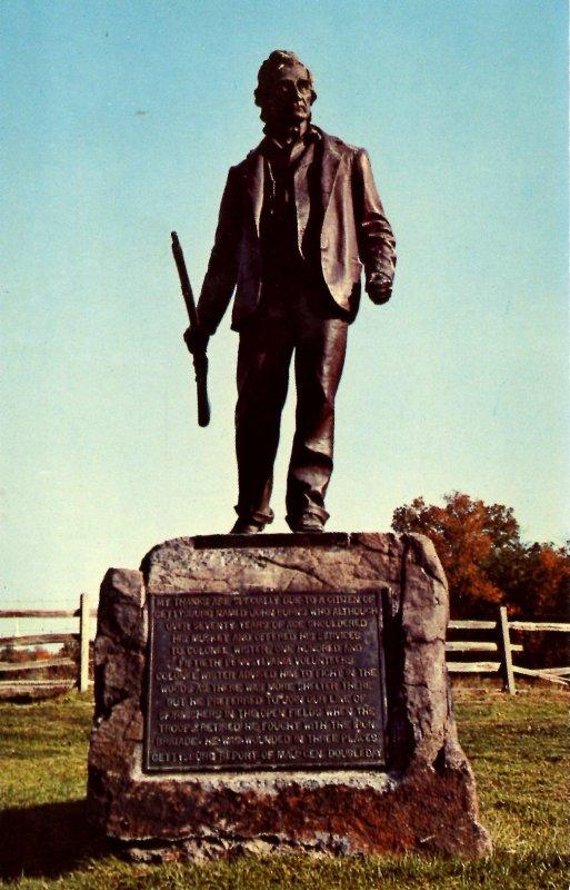 PA - Gettysburg. John Burns Memorial