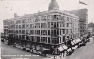 Minnesota Minneapolis Donaldson's Glass Block Department Store 1915