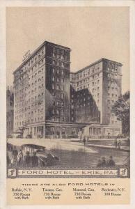 Ford Hotel, Erie, Pennsylvania, 10-20s