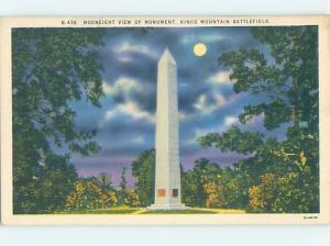 Linen MONUMENT Kings Mountain - Near Gastonia & Charlotte NC F2620
