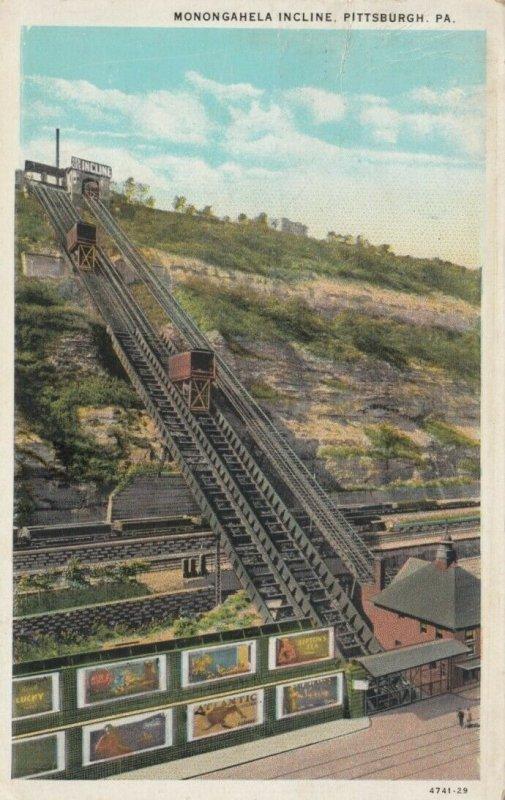 PITTSBURGH , Pennsylvania, 1930; Monongahela Incline