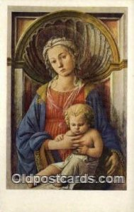 Madonna and child Religious Angles Unused close to perfect corners