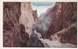 Colorado Train In The Royal Gorge