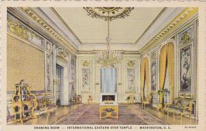 Washington D C Drawing Room International Eastern Star Temple Curteich