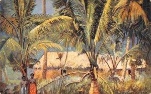 Fijian House Fiji 1910c Tuck postcard