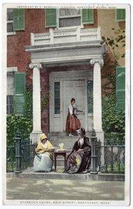 Nantucket, Mass, Starbuck House, Main Street