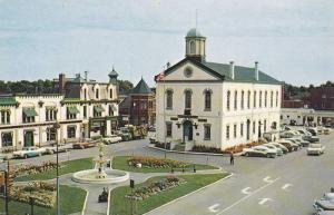 Bird´s-eye View of Woodstock City Hall, Historical Site, Oxford County Museu...