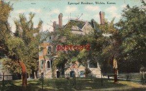 c1911? WICHITA KS Episcopal Residence, to Miss Mollie Hague