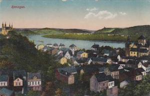 Aerial View of Remagen, Rhineland-Palatinate, Germany, 00-10s