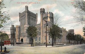 12216  NY Buffalo 1908  Armory