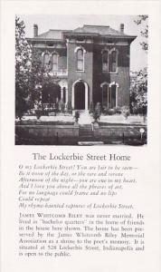 The Lockerbie Street Home Indianapolis Indiana