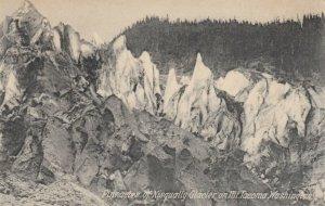 Pinnacles of Nisqually Glacier on MT. TACOMA, Washington, 1900-10s