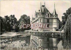 Modern Postcard Azay le Rideau (Indre et Loire) The Castle (1518) saw South East