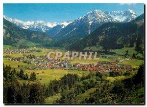 Postcard Modern Kurorte Hindelang Bad Oberdorf Allgauer Alpen