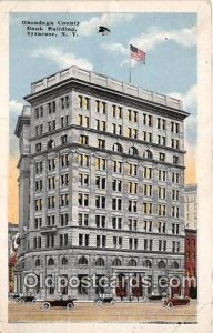 Onondaga County Bank Building Syracuse, NY, USA 1917 Missing Stamp