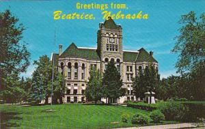 Nebraska Beatrice Greetings From Beatrice