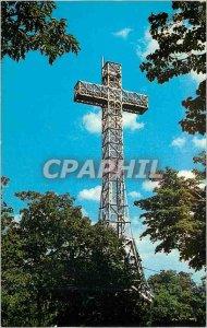 Modern Postcard Montreal Quebec Canada The Cross