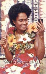 Getting Ready for the Dance Fiji, Fijian Unused