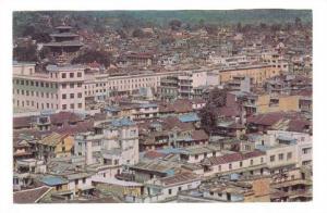 NEPAL, 50-70s : Bird's eye view of Kathmandu