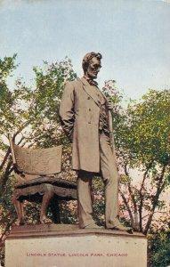 USA Lincoln Statue Lincoln Park Chicago 03.82