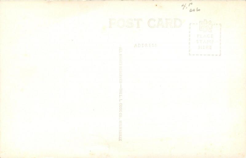 Hawarden Iowa~Community Hospital & Grounds Real Photo Postcard RPPC 1940s