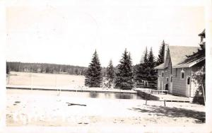 Saskatchewan Canada Maple Creek Cypress Park Real Photo Antique Postcard K62888