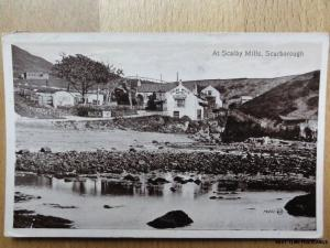 c1913 - At Scalby Mills - Scarborough - showing Scalby Mills Hotel