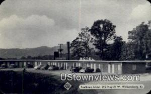 Faulkner's Motel Williamsburg KY Unused