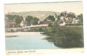 Streatley, River Thames , Berkshire, England. 00-10s Bridge & Church