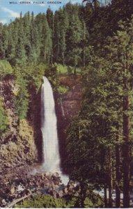 MILLS CREEK FALLS on the Rogue River, Oregon's finest fishing spot 1930/40s