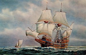 The Mayflower.  Artist: John Leavitt