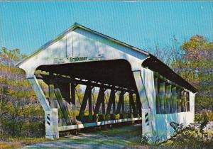 Ohio Preble County Brubaker Covered Bridge