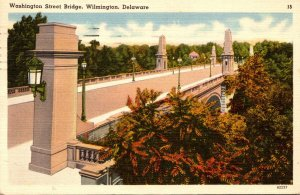 Delaware Wilmington Washington Street Bridge 1952