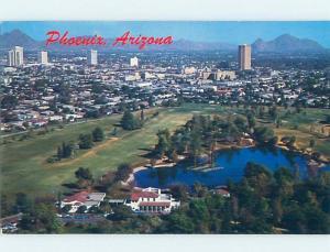 Unused Pre-1980 PANORAMIC VIEW Phoenix Arizona AZ F8768