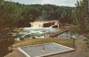 FT. WILLIAM, Ontario, Canada, 1950-60s; Middle Falls and Government Park near...