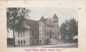 Parmly Billings Library, Billings, Montana, 00-10s