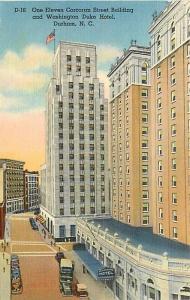NC, Durham, North Carolina, One Eleven Concoran Street Bldg., Duke Hospital
